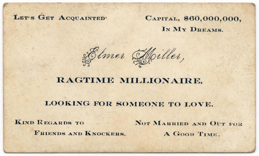 Saucy 'Escort Cards' Were a Way to Flirt in the VictorianEra